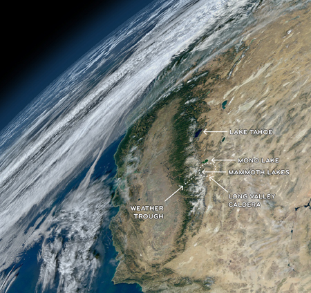Mammoth from Space