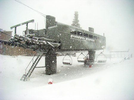 Mammoth Mountain Broadway Express
