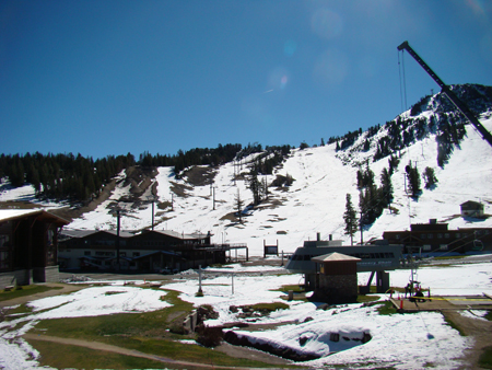Mammoth Mountain Inn View